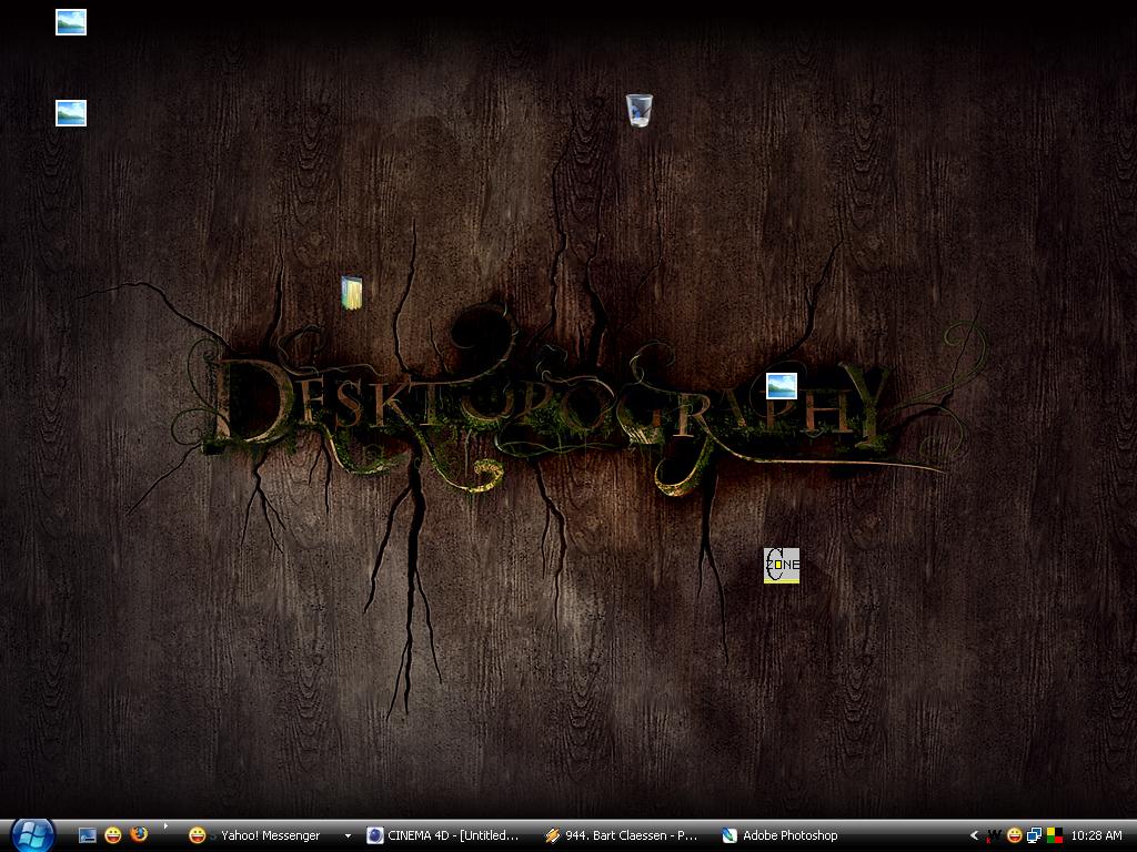 My Desktop by Tequilaz0r