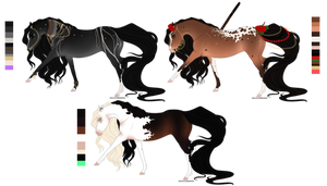 Adoptables Batch 1 | Closed by SavageHabits