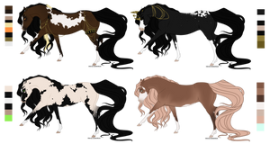 Adoptables Batch 2 | Closed | Reduced by SavageHabits