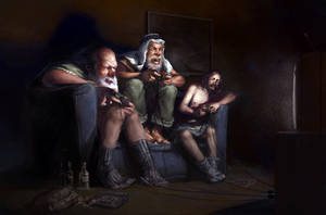 Strange Behaviour by davidsmit