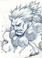 Gouki by Alvin Lee by chinokin