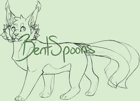 :p2u: Feline Base 4 by BentSpoons