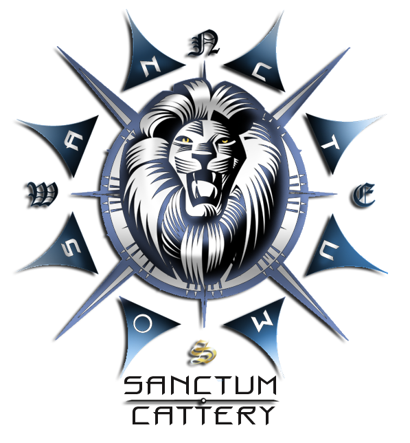 Sanctum Cattery Logo by xX-Phantazm-Xx