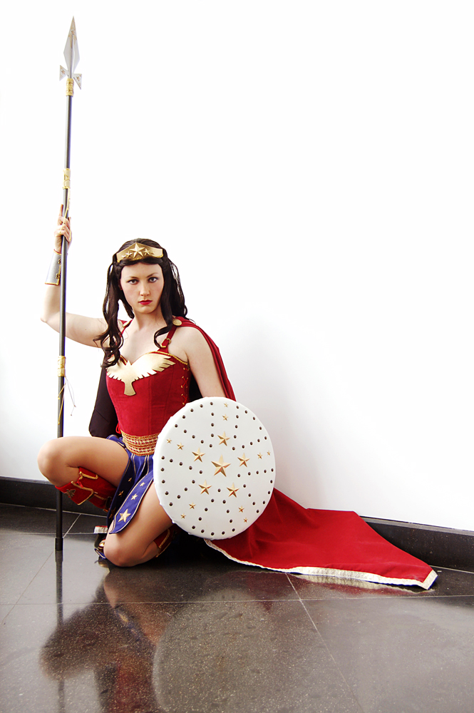Warrior Princess Wonder Woman by Syagria