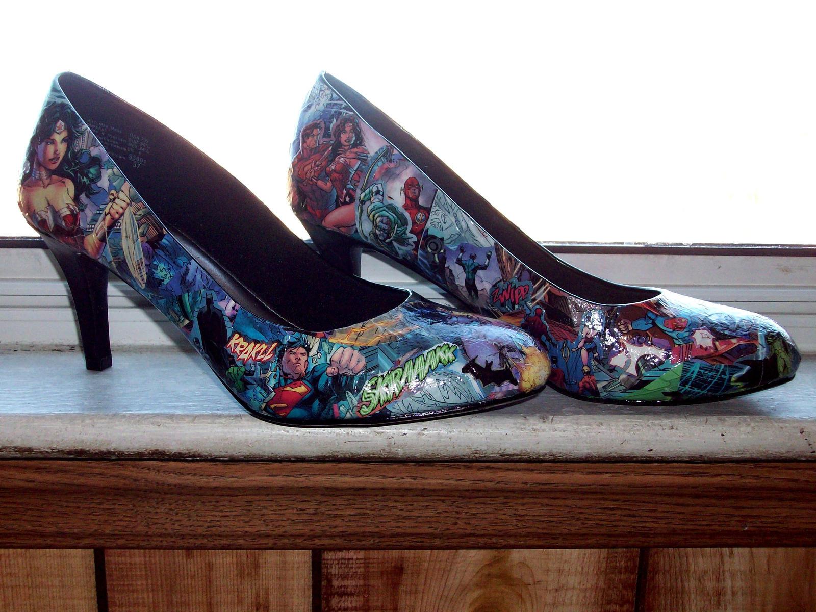 JLA Shoes by Syagria