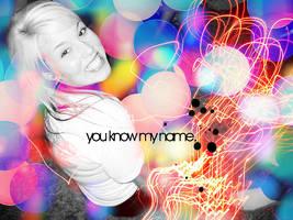 you know my name. by skykeys