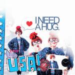 USA i need a hug.