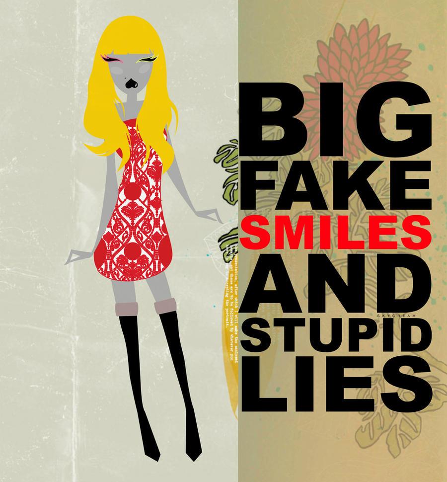 Fake Smiles by skykeys