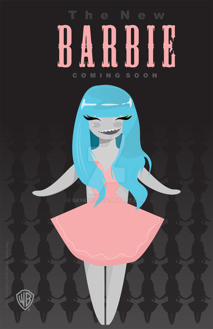 The New Barbie. by skykeys