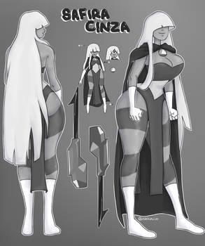 Safira Cinza