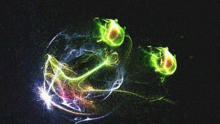 Undersea creatures by Spectraljump