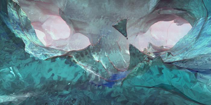 PCG Caves Beta ice 4