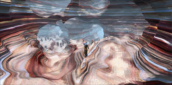 PCG Caves Beta - canyon 1