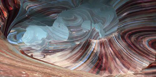 PCG Caves Beta - canyon 4