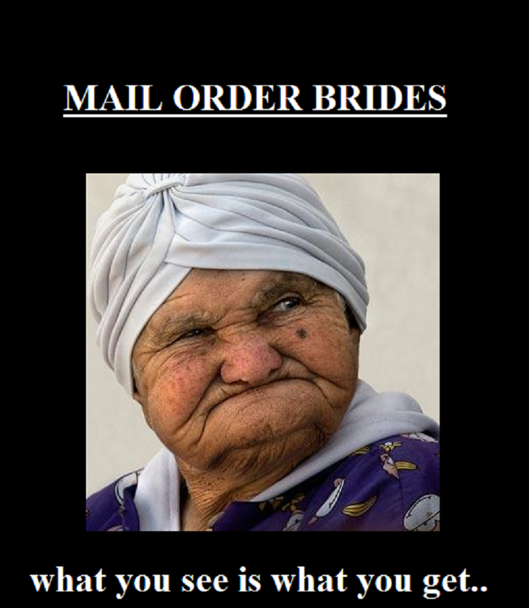Older mail order brides