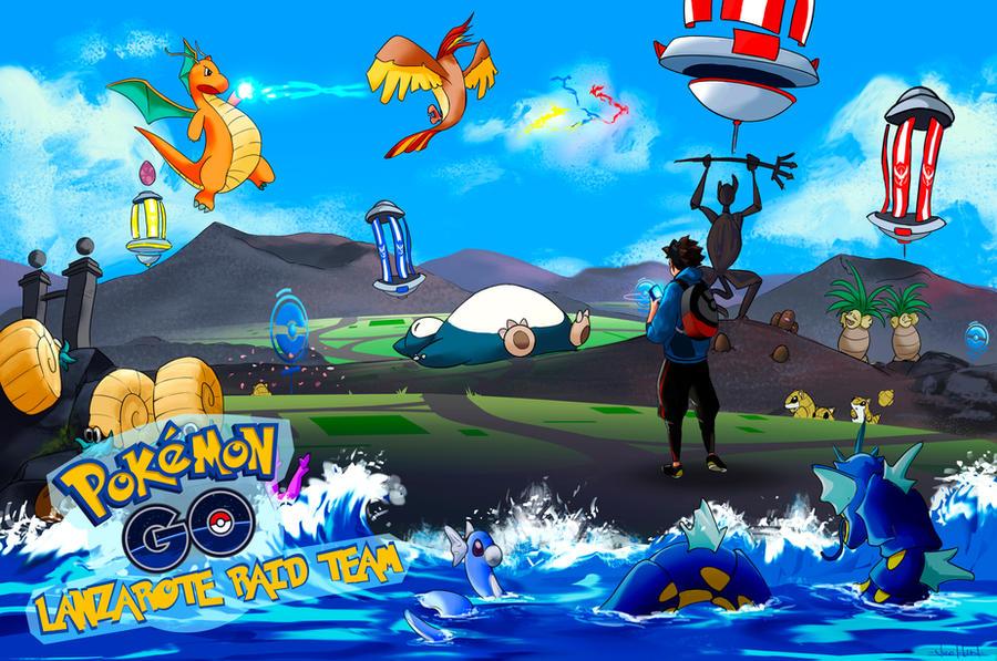 Pokemon Go fanart by Nicohh