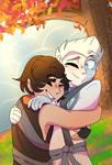 Glacier hugs