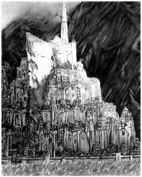 Minas Tirith by FinAngel