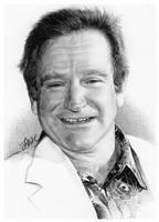 Robin Williams by FinAngel