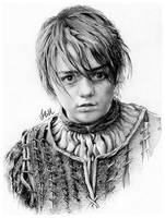 Arya Stark by FinAngel