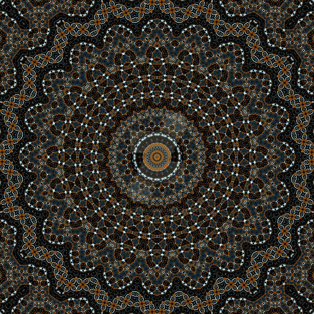 Mandala: Flower of Virtue