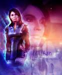 Mass Effect Ashley Art