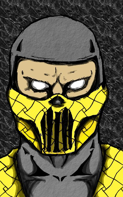 Scorpion Alternate Costume by TheChaosArtist on DeviantArt