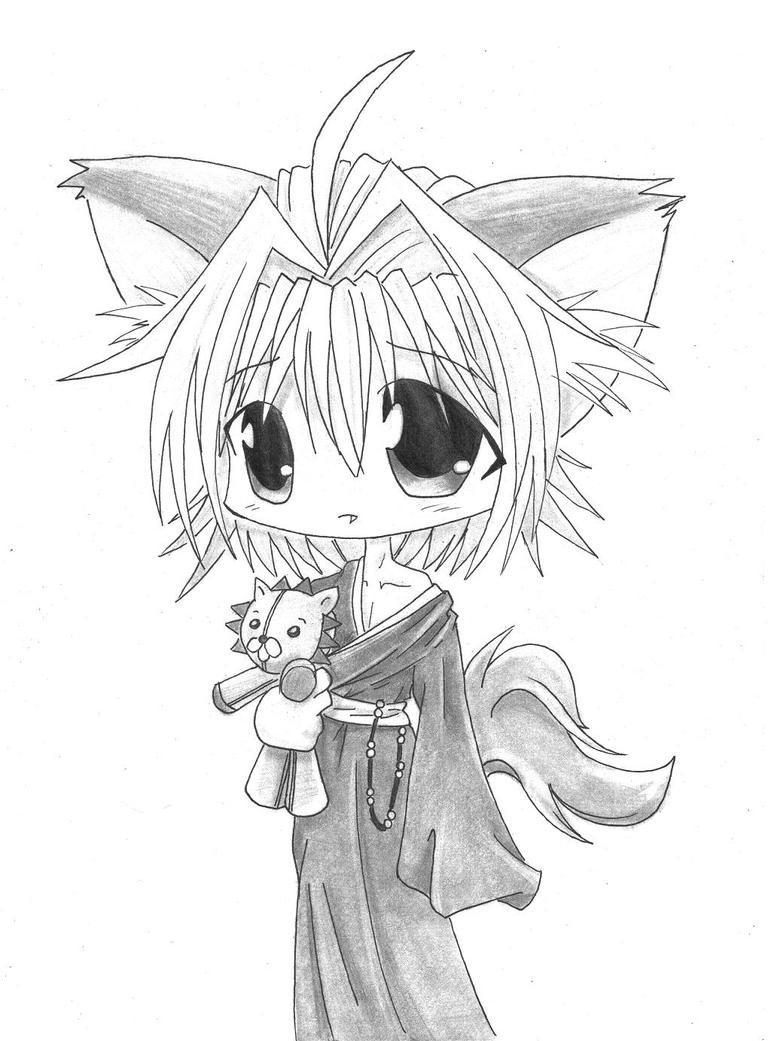 Cutest Chibi Neko Boy by SenseiAlicia on DeviantArt