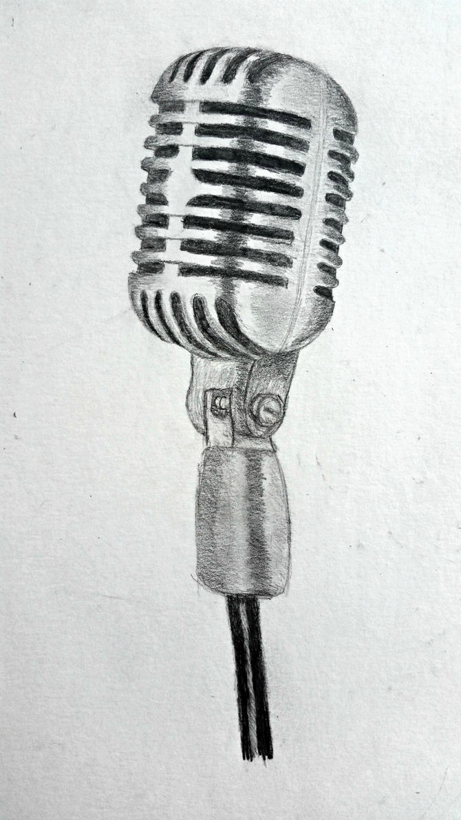 Vintage Microphone by liloved1