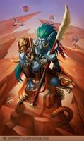 Troll Hunter in Durotar by skadi-s