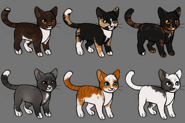 Cat Adopts (closed) by becauseDia