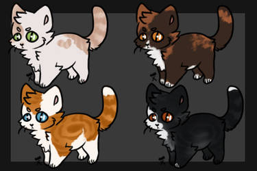 Cat Adopts (Open) by becauseDia