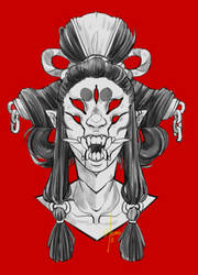 Oni by Morthern