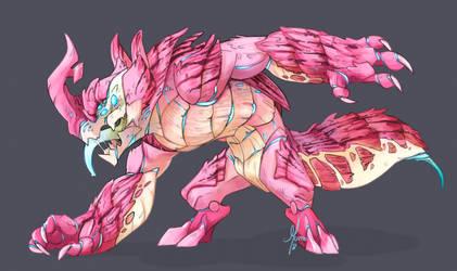 Monster - C - Franju by Morthern
