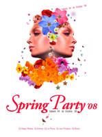 Flyer_Spring Party by CosasBonitas
