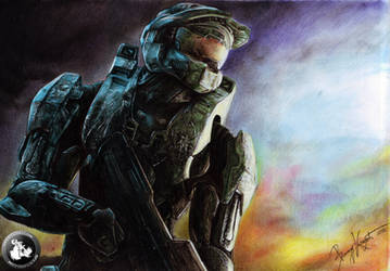Master Chief by KondaArt