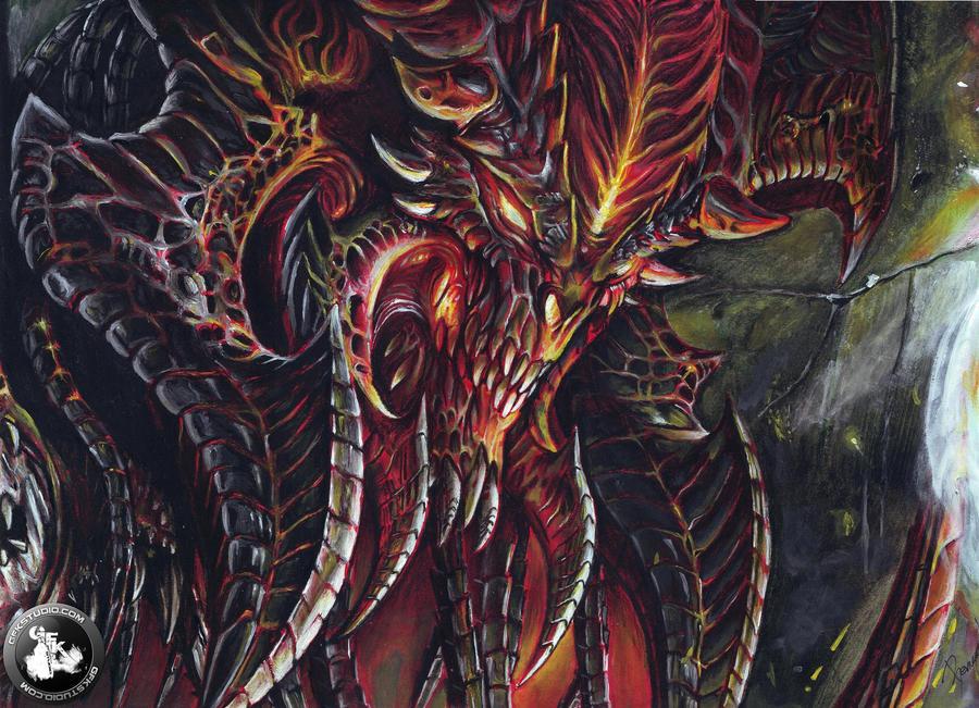 Diablo drawing (DIABLO III)