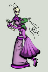 Violet and Tallest Purple by Prepare-Your-Bladder