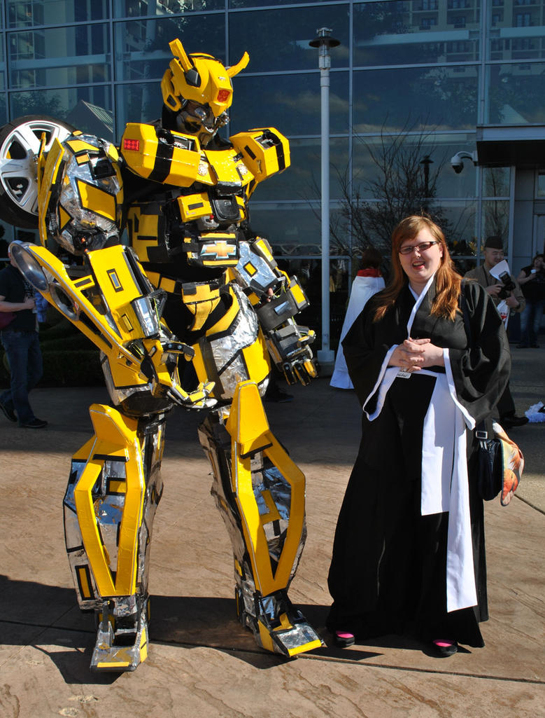 Me and Bumblebee by Prepare-Your-Bladder