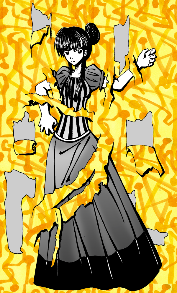 the yellow wallpaper. The Yellow Wallpaper by