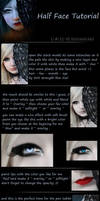 Half Face photomanipulation Tutorial