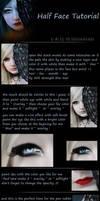 Half Face photomanipulation Tutorial