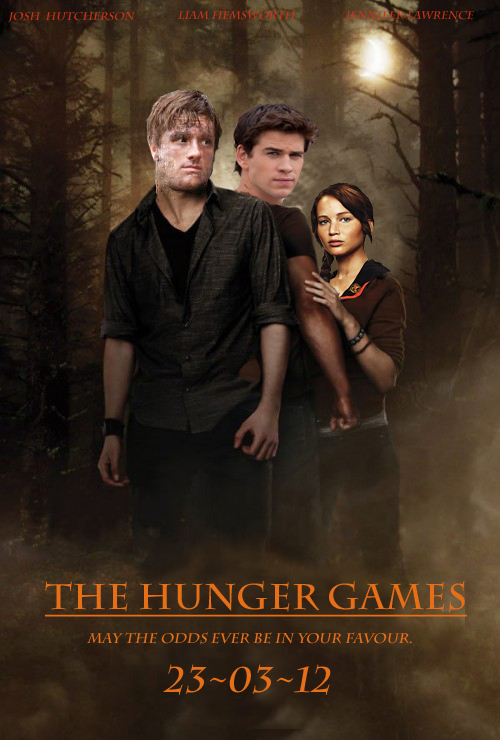 The Hunger Games - movie poster by Purple-kat-pixels