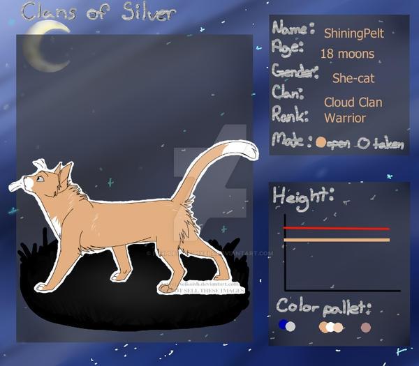 ShiningPelt - CoS app by Purple-kat-pixels