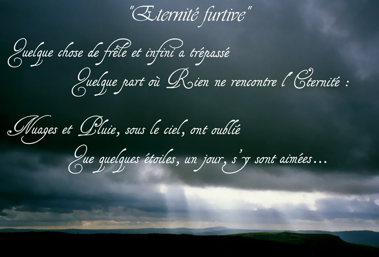 Rencontre furtive poeme