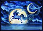 Selenae - Moonlight's unicorn for Lorellyne