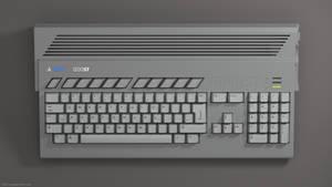 Atari ST and Amiga 1200 remixed in 3D by zgodzinski