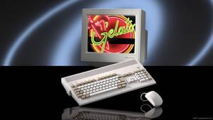 Amiga 1200 ad horizontal version (wallpaper) by zgodzinski