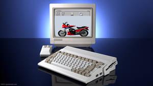 Commodore Amiga 600 ad remake in 3D (1992)