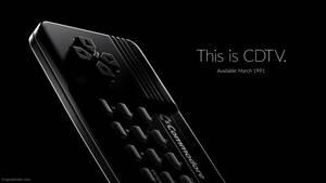 Commodore CDTV - Apple iPhone 7 ad parody